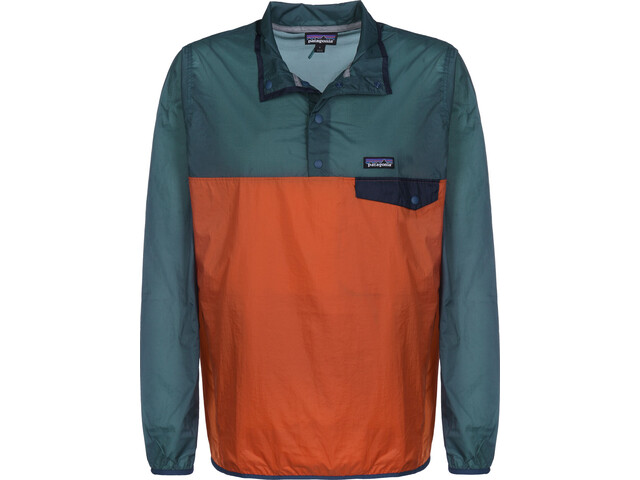 Patagonia Houdini Snap-T Pullover Hombre, sunset orange